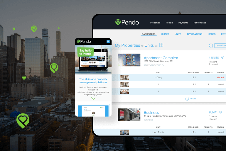 property management system for canada landlords