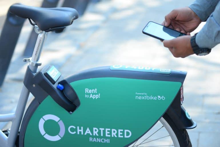 bicycle rental apps